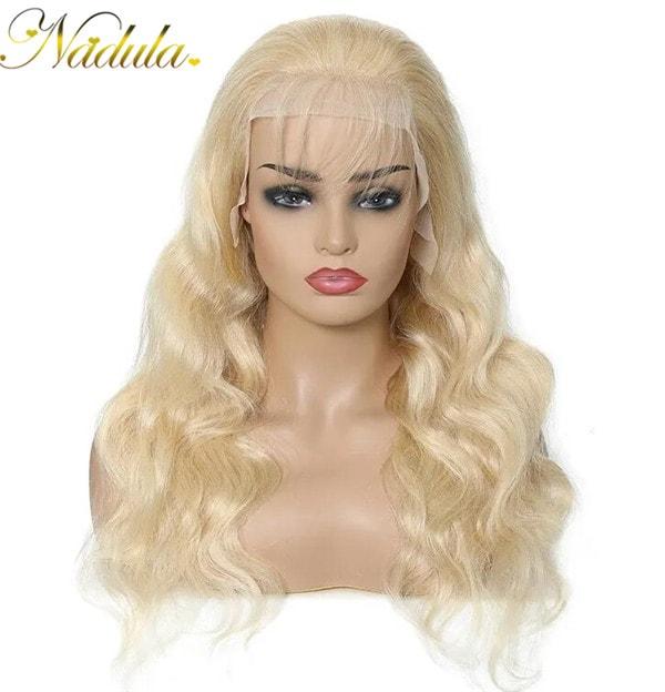 body wave blonde wig