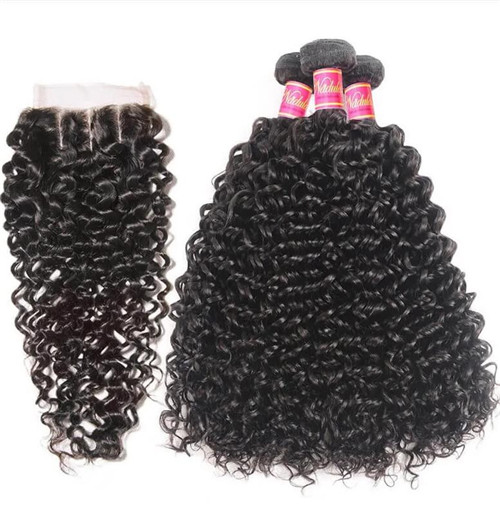 curly bundles with closure