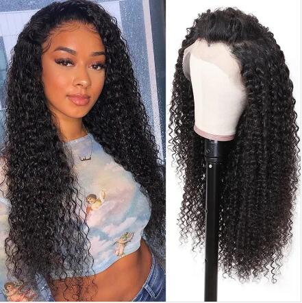 curly human hair wig