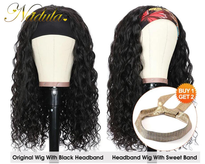 half wigs with headbands