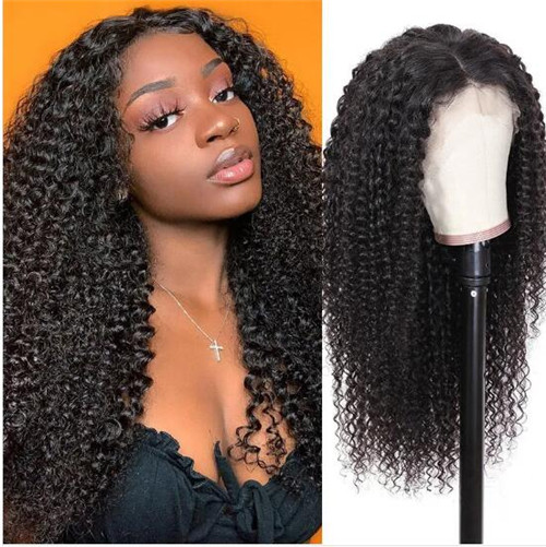 long curly human hair wigs