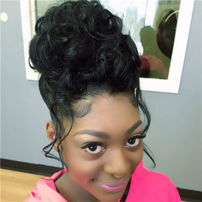 sew in updo hairstyles