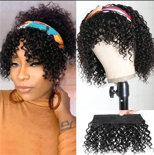 short curly wigs