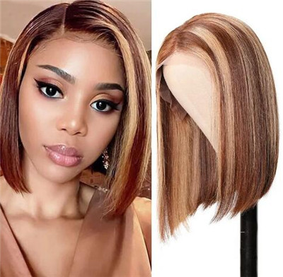 short sew in hairstyles with invisible part