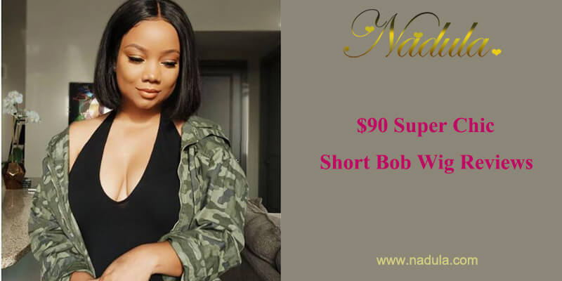 $90 Super Chic Short Bob Wig Reviews