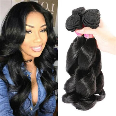 wavy sew in hairstyles