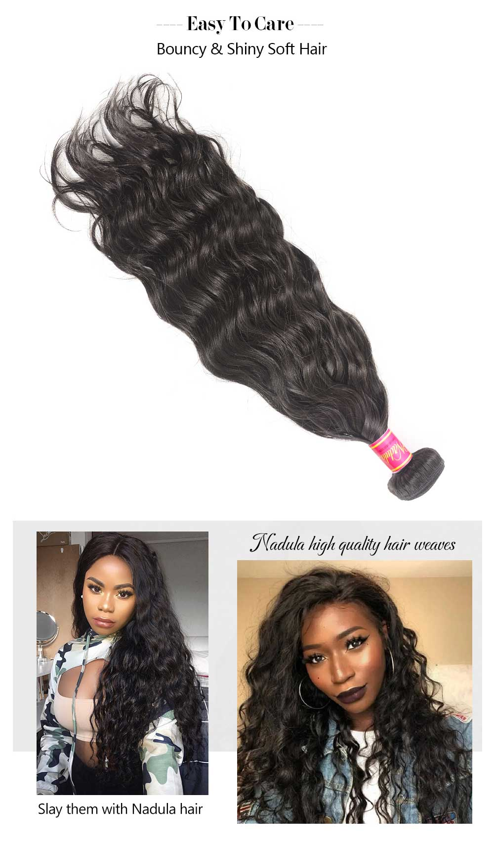 Hair Weave Natural Wave