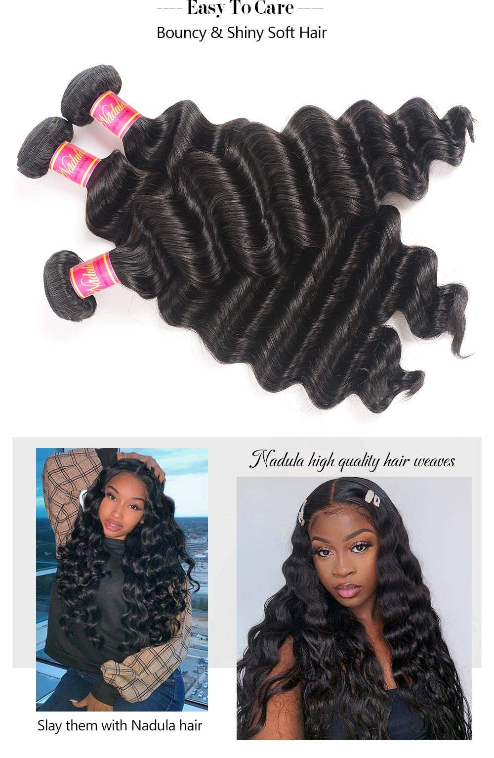 Virgin Hair Weave Loose Deep