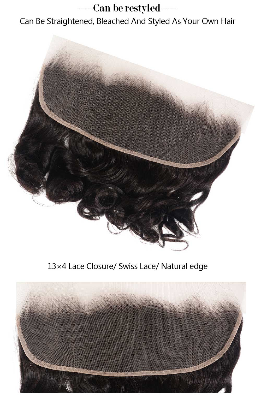 13x4 Ear To Ear Loose Wave Lace Frontal