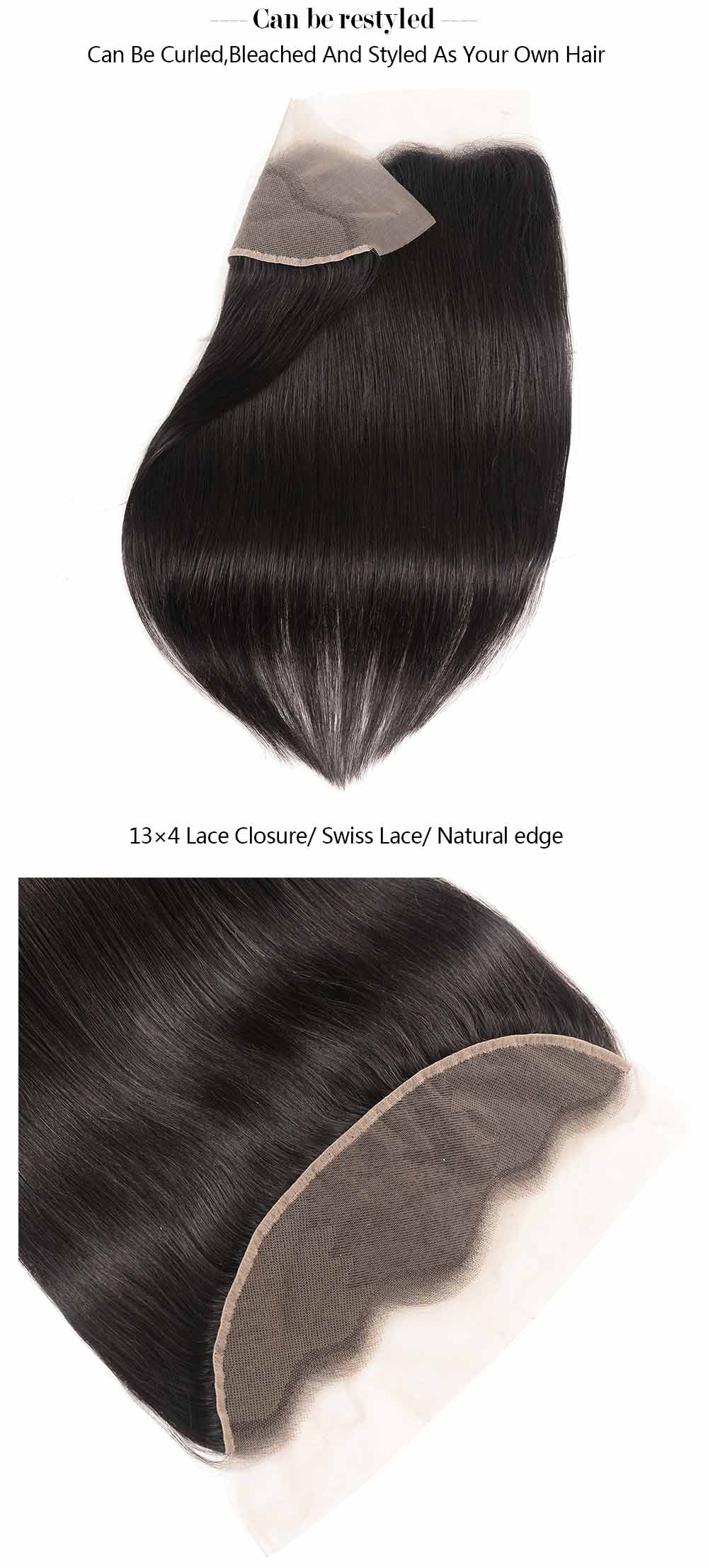 13x4 Ear To Ear Lace Frontal Closure Straight