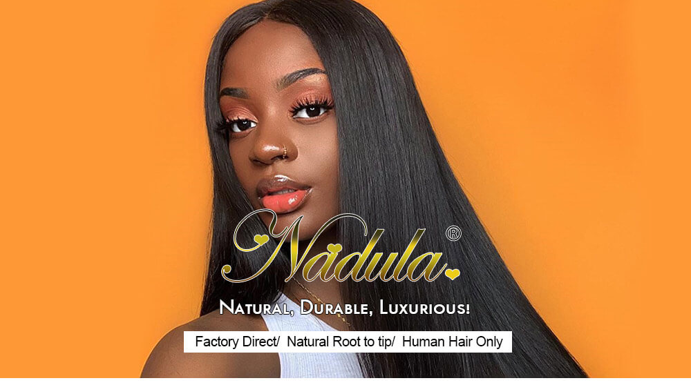 Nadula Straight Omber Wig Lace Closure Wig With Baby Hair LT430 Wigs Hand Tied Lace Wig 150% Density