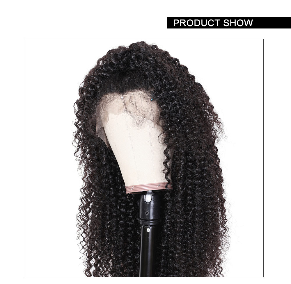 Nadula Curly Hair Wigs Lace Front Fake Scalp Lace Wig Glueless Pre-Plucked Lace Wig Human Hair Wigs