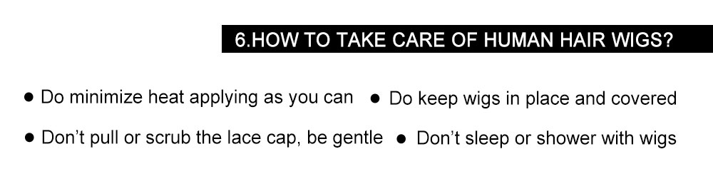How to care for a wig